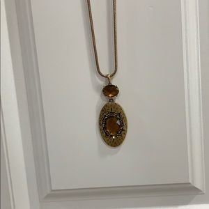Lucky Brand gold  necklace